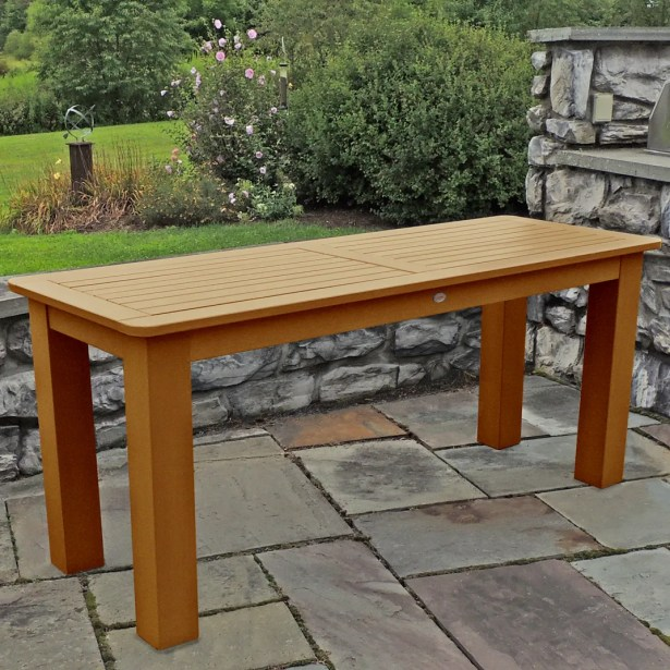 Timperley Plastic Dining Table Finish: Toffee