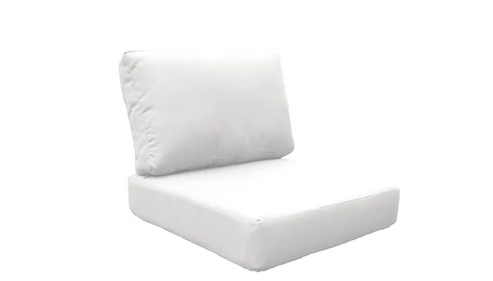white lounge chair cushions the chronicles of narnia silver furniture fairmont 10 piece outdoor cushion set fabric
