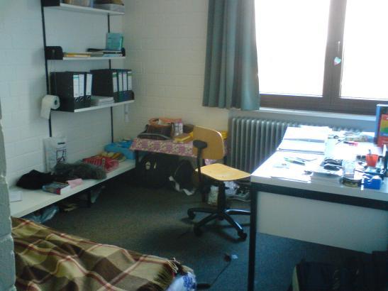 Mbliertes Zimmer in HaDiKo  WG in Karlsruhe mbliert