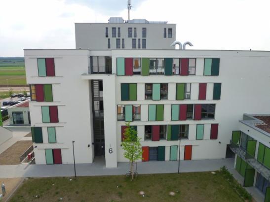 Apartment im Studentenwohnheim K3 zu vergeben  Wohnung in