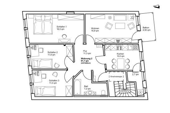 Wohnungen Weienfels  Wohnungen Angebote in Weienfels