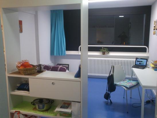 1Zimmerappartement im Studentenwohnheim Oberwiesenfeld