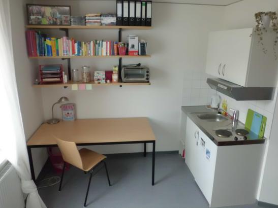 Einzelapartment im Studentenwohnheim Binger Schlag