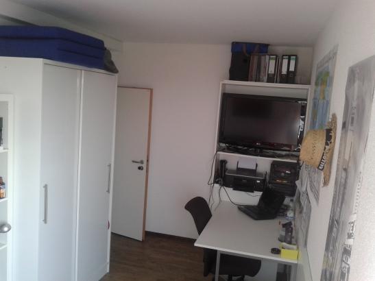 Mbliertes Zimmer in 3erWG Studentenwohnheim Nhe Uni