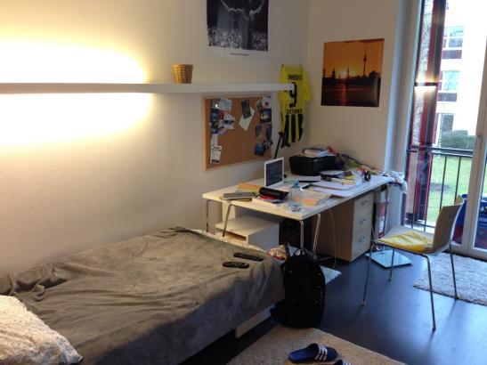 Zimmer in neuem Studentenwohnheim mit eigenem Bad Sehr