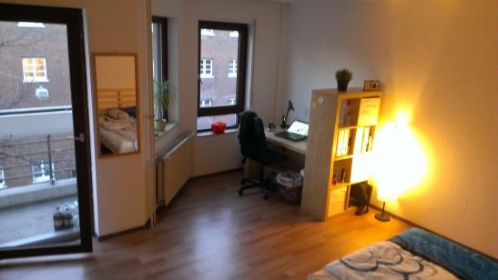 Zentrales mbliertes Apartment Augartenstr 112  1ZimmerWohnung in MannheimSchwetzingerstadt