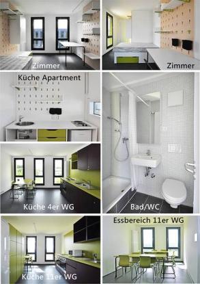 UPPER WEST SIDE Wohnheim Neubau  Wohngemeinschaften Ulm