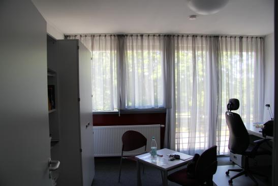 Appartement in Bunten Wohnheim auf dem Campus der TU KL