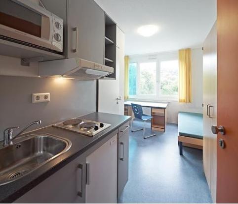 Apartment im Wohnheim Studentenwerk Stuttgart Grdelerweg 58  1ZimmerWohnung in Esslingen