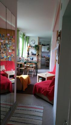 gnstiges 14qm Zimmer in gemtlicher 4er WG in