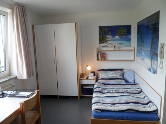 1Zimmerwohnung im Studentenwohnheim St Anno Nhe Feki  1ZimmerWohnung in BambergGartenstadt