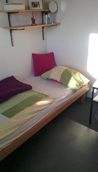 Vollmbliertes Zimmer im Wohnheim mit tollen Weitblick