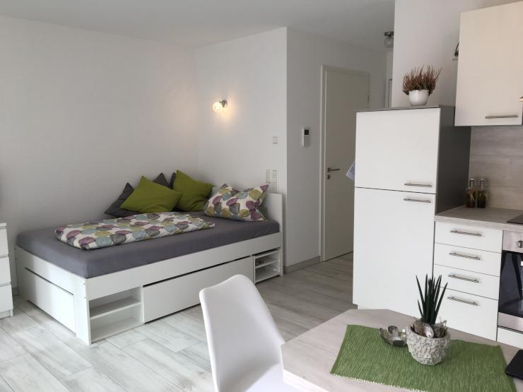 Ab Juli 2018!)Moderne möblierte 1-Zimmer-Wohnung im Herzen von