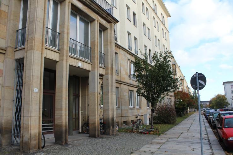 Zentrale 1RaumWohnung in Dresdner Altstadt mit Kche  1