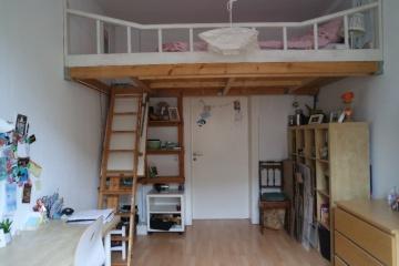 Helles Zimmer mit eingebautem Hochbett  Krmpfervorstadt