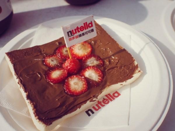 美好的早晨,餐桌怎麼能夠少了Nutella – 餐車拍照送早餐