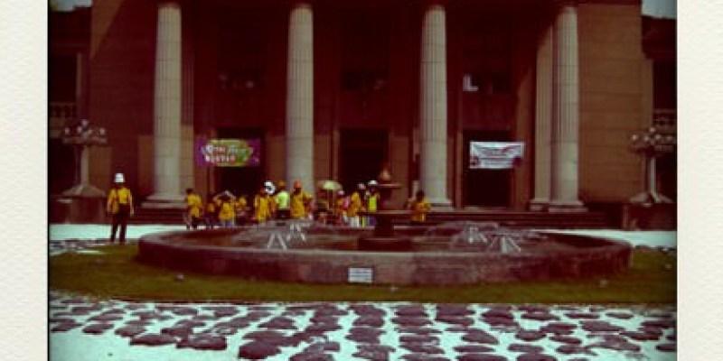 現在上班的地方!板橋市435藝文特區。。