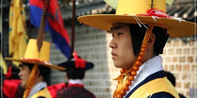 首爾。總有很多免費的傳統表演。