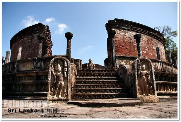 斯里蘭卡。Polonnaruwa-一個遺忘的皇室古城