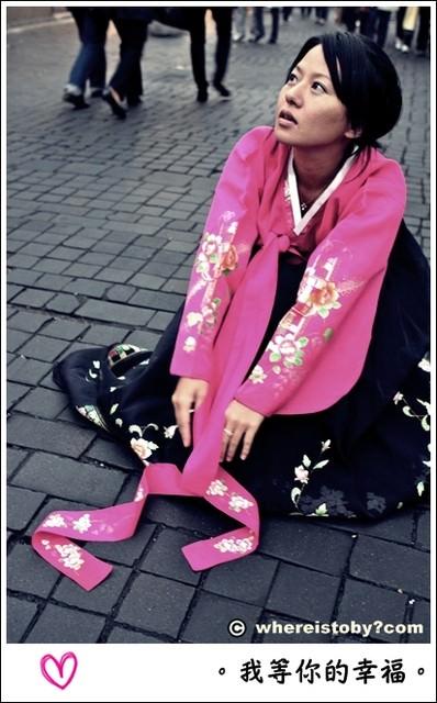 韓國。韓服裡的愛情~應該是說百元台幣體驗韓服的愛與慾