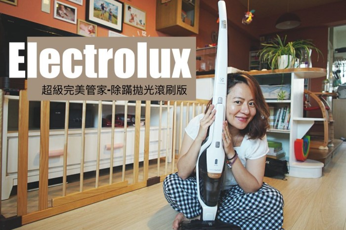 Electrolux伊萊克斯超級完美管家吸塵器。超級心動開箱ZB3425BL