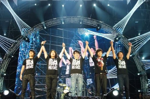 MayDay∥ 20091205 五月天《創造55555人 D.N.A.無限放大版》高雄演唱會心得
