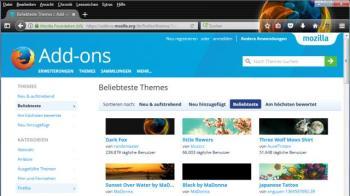 Windows Dark Theme im Firefox