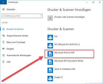 PDF-Dateien ohne weitere Programme erstellen