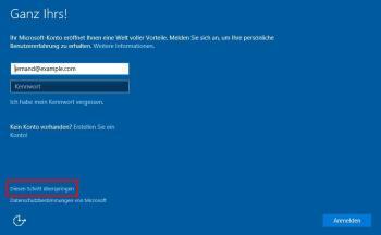 Vor- und Nachteile eines lokalen Kontos und eines Microsoft – Kontos auf Windows 10