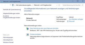 Arten von Netzwerkstandorten und Profile