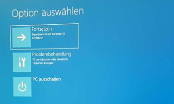 So können Sie den Fehler INACCESSIBLE BOOT DEVICE unter Windows 10 beheben