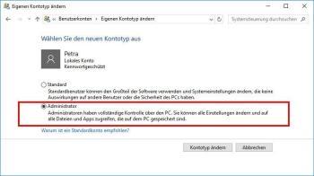 Windows 10 meldet sich automatisch ab
