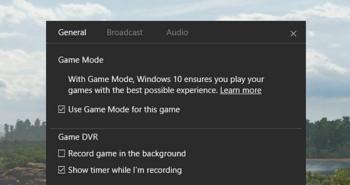 So aktivieren Sie in Windows 10 den Game Mode