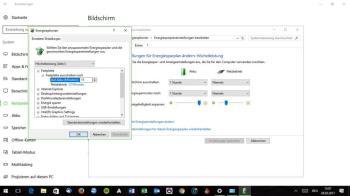 So passen Sie die Energieoptionen in Windows 10 nach Ihren Bedürfnissen an