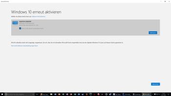 Windows 10 nach Hardwaretausch reaktivieren
