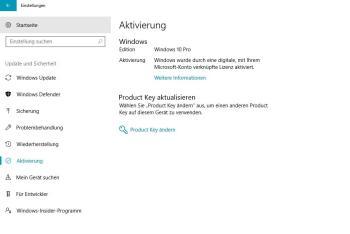 Übertragen Sie die Windows 10-Lizenz: Voraussetzungen
