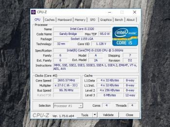 CPU-Z: Chipsatz herausfinden