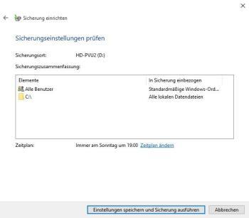 Windows 10 auf neue Festplatte übertragen