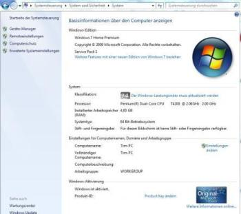 Windows-Basisinformation