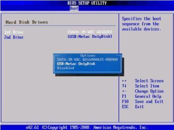 Windows 10 manuell vom Stick booten