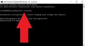 Fehler 0x8000ffff (E_UNEXPECTED)