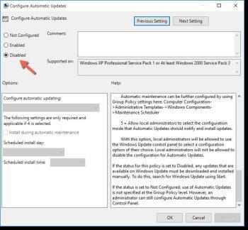 Treiber-Updates in der Registry deaktivieren