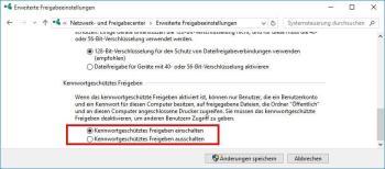 Windows-10-PC wird nicht im Netzwerk gefunden