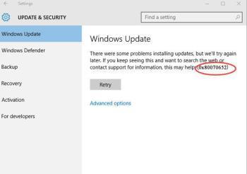 Windows Update Store zurücksetzen