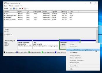Darum zeigt Windows 10 die externen Laufwerke nicht an