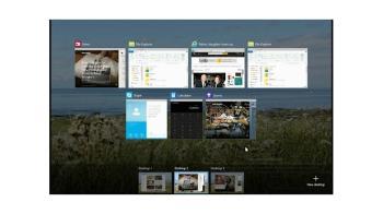 Programme unter virtuellen Desktops verschieben