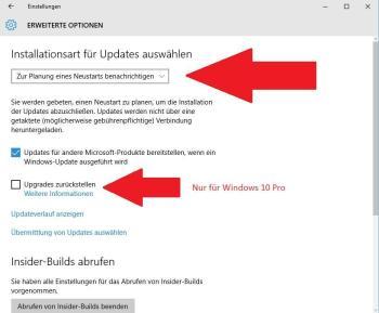 Windows 10: Updates deaktivieren