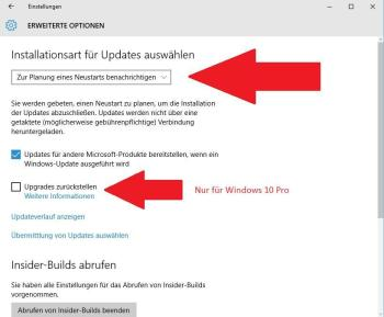 Windows 10: Updates deaktivieren