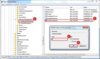 Deaktivieren des Windows-Preloaders für Programme