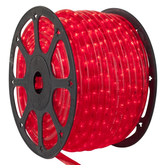 Red LED Rope Light 120 Volt  Wintergreen Corporation